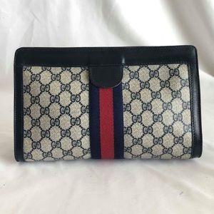 Gucci Parfums Vintage Clutch Bag